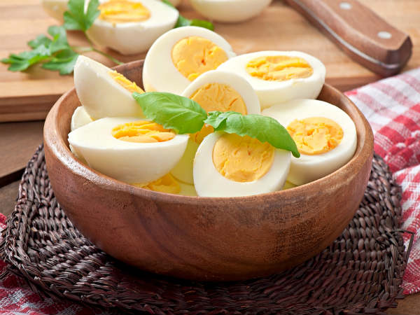 Two boiled Eggs in the Morning Can Help You Lose Weight