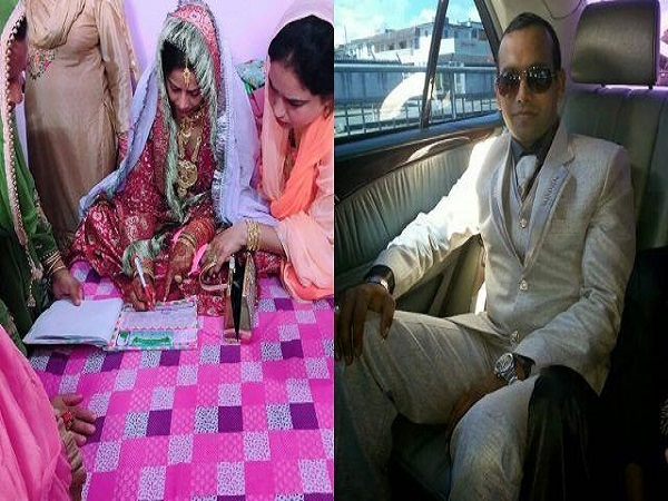 corona effect : Groom could not come from mauritus in marriage in up nikha process completed on video call