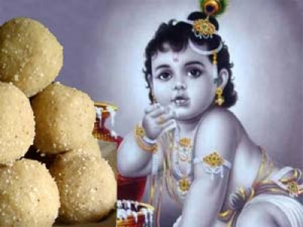 Janmashtami Special: Easy Recipe Of Coconut Laddu In Telugu