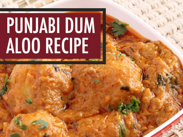 Punjabi Dum Aloo Recipe in Telugu