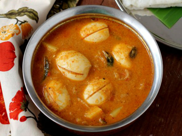 Mangalorean Egg Curry Recipe in telugu