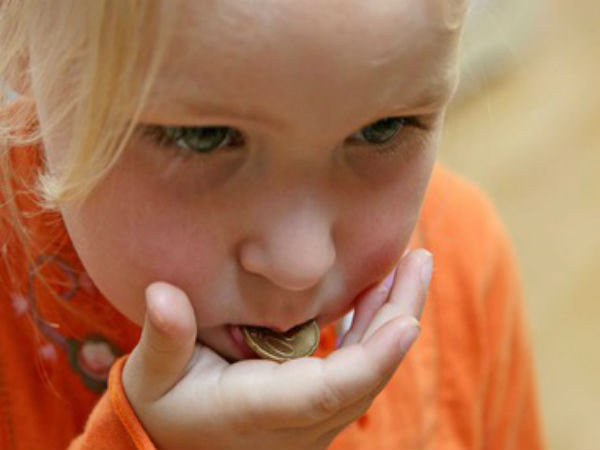 What To Do When Your Child Swallows A Coin?
