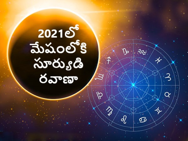 Sun Transit in Aries on 14 April 2021 Effects on Zodiac Signs in Telugu