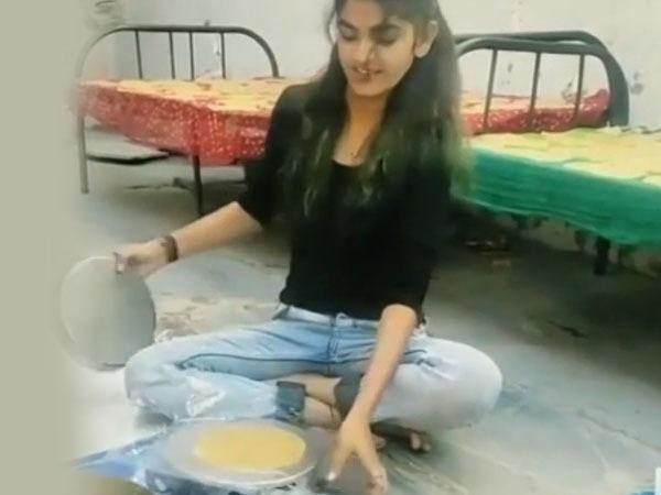 Viral: చపాతిని ఇంత ఈజీగా చేయొచ్చా... అదెలాగో మీరూ చూడండి...