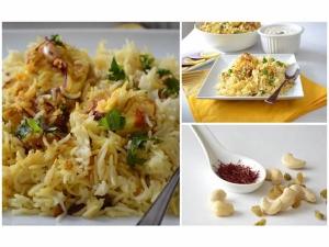 Spicy Kaju Egg Biryani Recipe