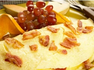 Cheese Bacon Omelet 270711 Aid