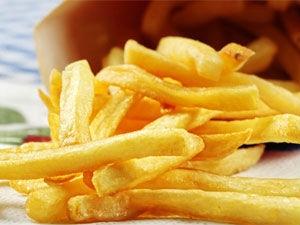 Garlic Potato Fries Recipe Aid