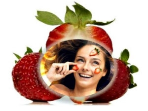 Find The Secrets Strawberry Skin Care Aid