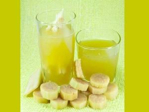 Benefits Drinking Sugarcane Juice
