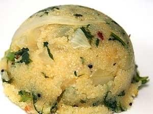 Palak Upma Healthy Breakfast
