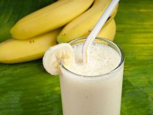 Delicious Banana Ice Cream Smoothie
