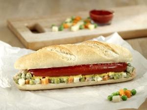 Green Peas Sandwich Healthy Kids