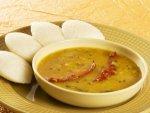 Moong Dal Sambhar Breakfast Recipe