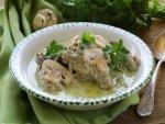 Palak With Mushroom Curry Recipe