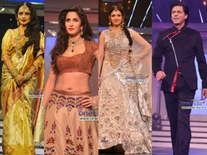 Celebrities Walk The Ramp On Yash Raj Birthday