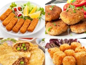 Delicious Vegetarian Snacks Navratri