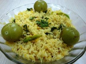 Amla Usirikaaya Rice Recipe