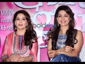 Gorgeous Celebs At The Gulaab Gang Pc 007548 Pg