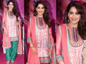 Gorgeous Madhuri Dixit At Gulaab Gang Press Conference