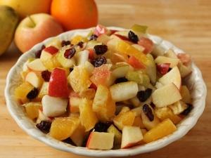 Apple Dry Fruite Salad Shivaratri Special