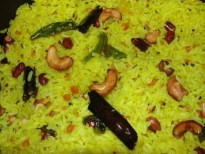 Mango Pulihora Mango Rice Ugadi Special