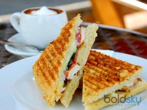 Rajma Sandwich Recipe Breakfast
