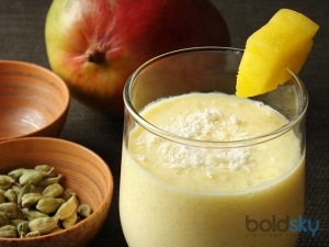 Dry Fruit Mango Lassi Traditional Punjab Recipe
