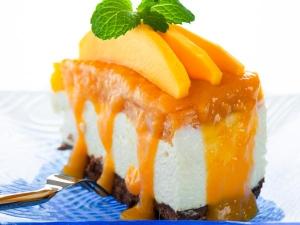 Mango Cheese Cake Summer Special Dessert