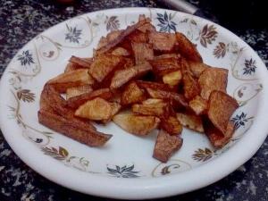 Masala Aloo Fry Simple Side Dish