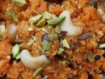 Vitamin Rich Corrot Pumpkin Halwa