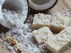 Coconut Burfi Recipe Ganesh Chaturthi