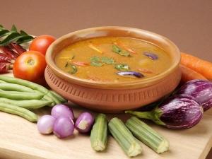 Mixed Vegetable Sambar