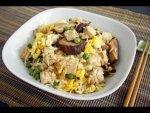 Egg Mushroom Fried Rice