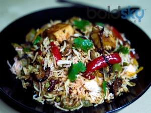 Spicy Paneer Biryani Recipe