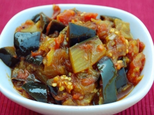 Curry Treat Brinjal Tomato Recipe