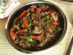 Yummy Mushroom Red Pepper Recipe