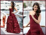 Cannes 2015 Aishwarya Rai S Berry Look At At Jazbaa First