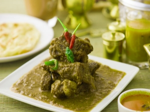 Mint Mutton Curry