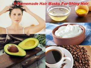 Homemade Hair Masks Shiny Hair Beauty Tip Telugu