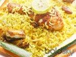Roasted Chicken Lemon Rice Recipe