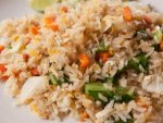 Spicy Egg Vegetable Fried Rice