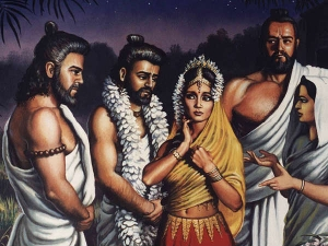 How Was Draupadi Born Mahabharat Spirituality Telugu