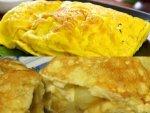 Egg White With Mushroom Omelette