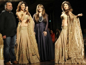 Aicw 2015 Shilpa Shetty Walks Rimple Harpreet Narula