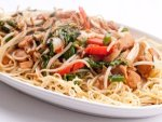 Lip Smacking Fried Chicken Noodles Recipe