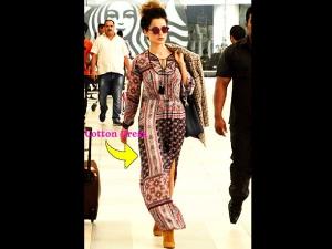 Kangana Ranaut Spotted At The Airport