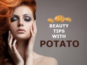 Heal Your Skin With Potato Beauty Tips Telugu