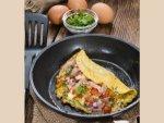 Classic Cheese Omelette Breakfast Breakfast Recipes Telugu