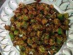 Bhindi Kurkuri Recipe Telugu