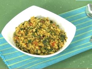 Methi Aloo Rice Bath Recipe Healthy Tasty Recips